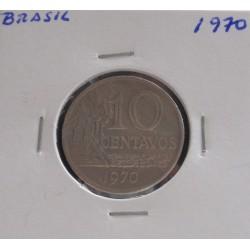 Brasil - 10 Centavos - 1970