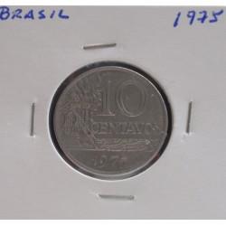Brasil - 10 Centavos - 1975