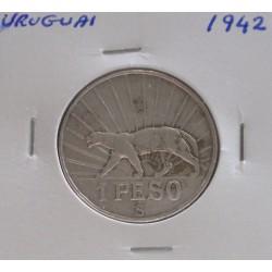 Uruguai - 1 Peso - 1942 -...