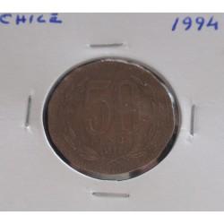 Chile - 50 Pesos - 1994