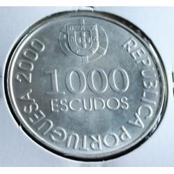 Portugal - 1000 Escudos - 2000 - D. João De Castro - Prata