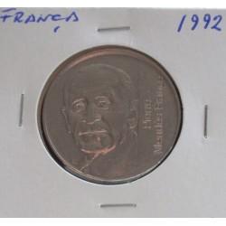 França - 5 Francs - 1992 -...