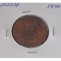 Jersey - 2 Pence - 1990