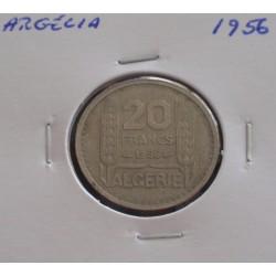 Argélia - 20 Francs - 1956