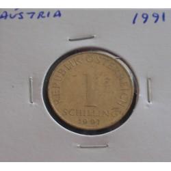 Aústria - 1 Schilling - 1991