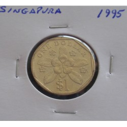 Singapura - 1 Dollar - 1995