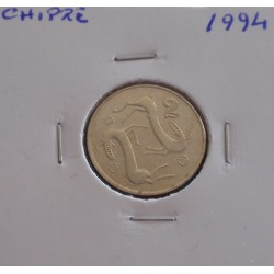 Chipre - 2 Cents - 1994