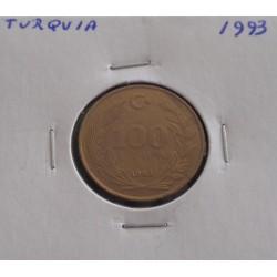Turquia - 100 Lira - 1993