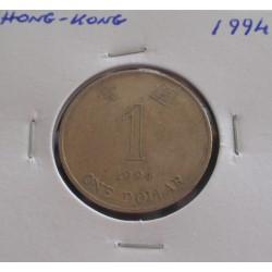 Hong - Kong - 1 Dollar - 1994
