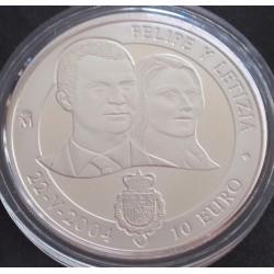 Espanha - 10 Euro - 2004 -...