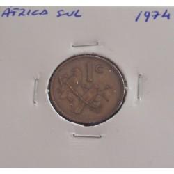 África do Sul - 1 Cent - 1974