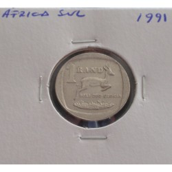 África do Sul - 1 Rand - 1991