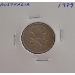 Austrália - 5 Cents - 1979