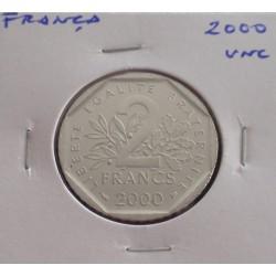 França - 2 Francs - 2000 - Unc