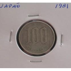 Japão - 100 Yen - 1981
