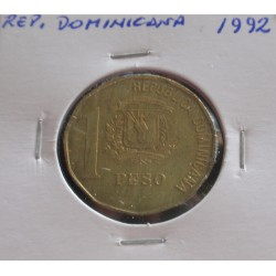 Rep. Dominicana - 1 Peso -...