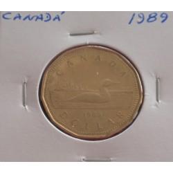 Canadá - 1 Dollar - 1989
