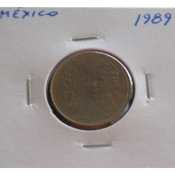 México - 20 Pesos - 1989