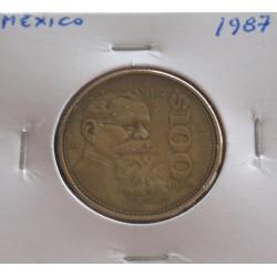 México - 100 Pesos - 1987