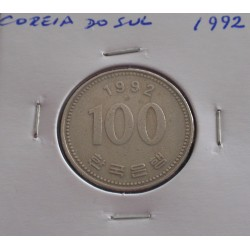Coreia do Sul - 100 Won - 1992