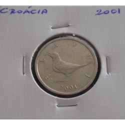 Croácia - 1 Kuna - 2001