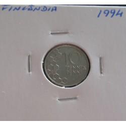 Finlândia - 10 Pennia - 1994