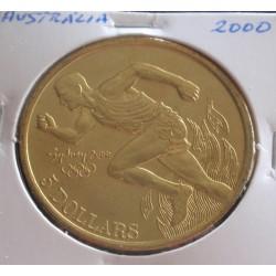 Austrália - 5 Dollars - 2000