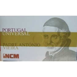 Portugal - 1/4 Euro - 2011 - Padre Ant. Vieira - (FDC) - Ouro