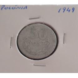 Polónia - 50 Groszy - 1949