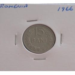 Roménia - 15 Bani - 1966