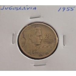 Jugoslávia - 20 Dinara - 1955