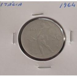 Itália - 50 Lire - 1964