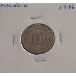 Malásia - 10 Sen - 1976