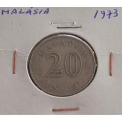 Malásia - 20 Sen - 1973