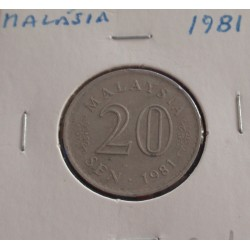 Malásia - 20 Sen - 1981