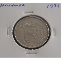 Holanda - 1 Gulden - 1971