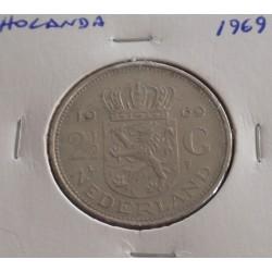 Holanda - 2 1/2 Gulden - 1969