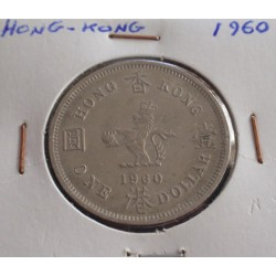 Hong - Kong - 1 Dollar - 1960