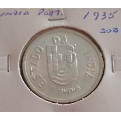 India - 1 Rupia - 1935 -...