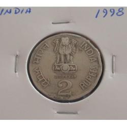 India - 2 rupees - 1998