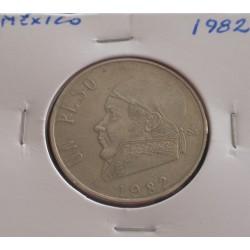 México - 1 Peso - 1982