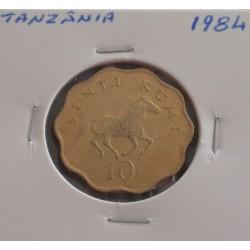 Tanzânia - 10 Senti - 1984