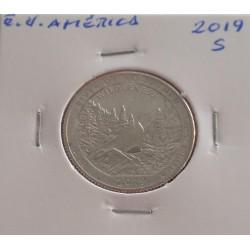 E. U. América - 1/4 Dollar...