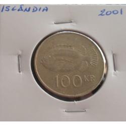 Islândia - 100 Kronur - 2001