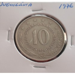 Jugoslávia - 10 Dinara - 1976