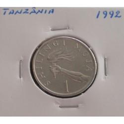 Tanzânia - 1 Shilingi - 1992
