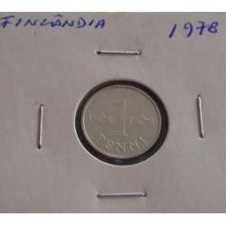 Finlândia - 1 Penni - 1978