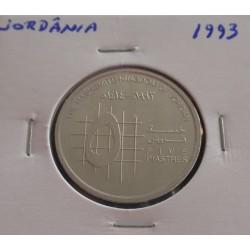 Jordânia - 5 Piastres - 1993