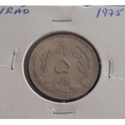Irão - 5 Rials - 1975