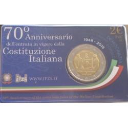 Itália - 2 Euro - 2018 -...